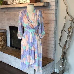 Authentic Vintage Wrap Dress